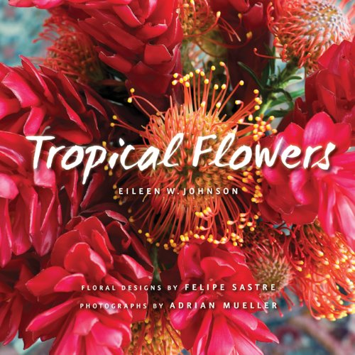 Tropical Flowers by Eileen Johnson