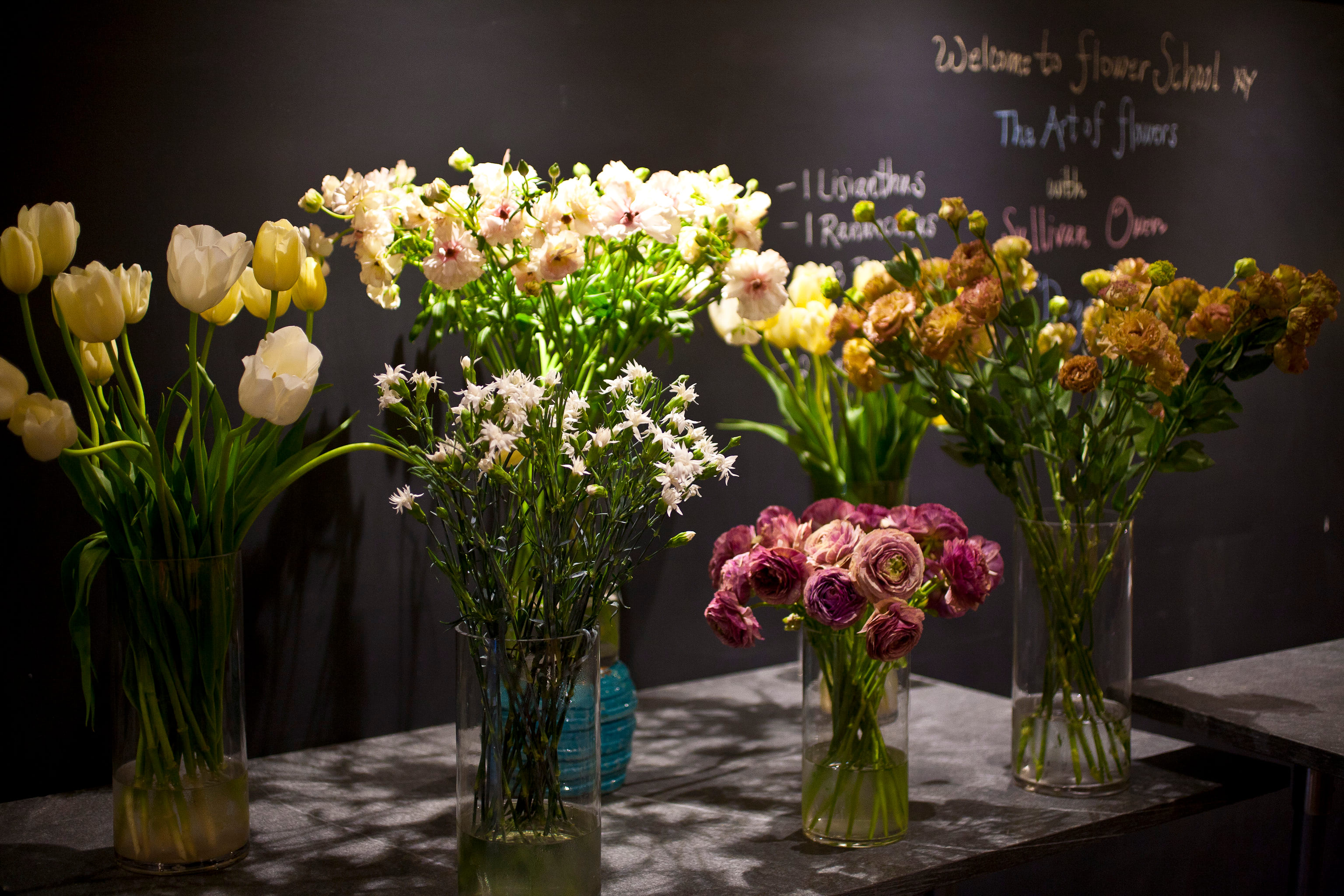 Flower School The Art Of Flowers Series Sullivan Owen Interprets