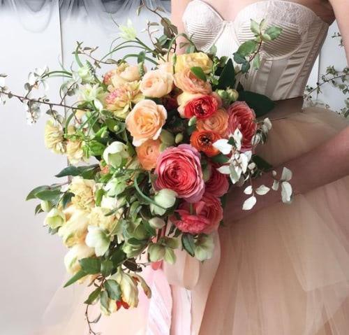 Bridal Bouquet With Ariella Chezar Flower School