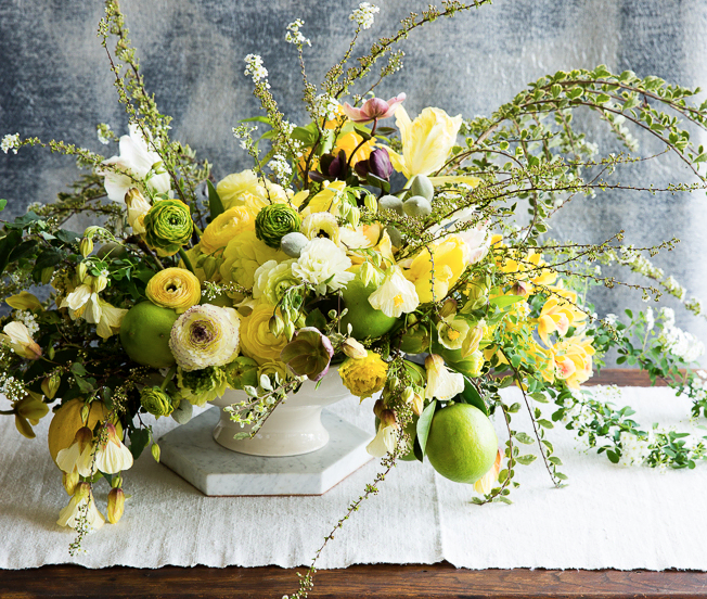 Spring Flowers From Zonneveld Farm With Ariella Chezar Flower School